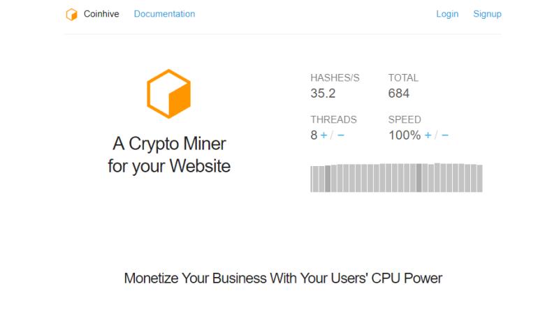 Los Cryptojackers atacan nuevamente, golpeando miles de sitios incluyendo las páginas gubernamentales de EE. UU. Y el Reino Unido